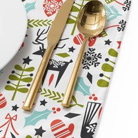 Heather Dutton Hygge Holiday Placemat