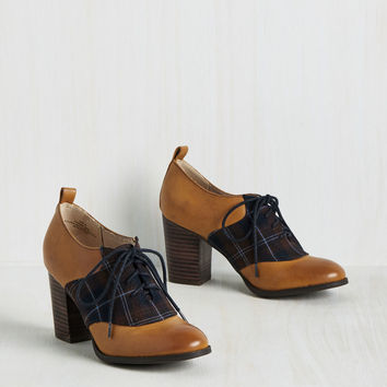 Educated Guest Oxford Heel | Mod Retro Vintage Heels | ModCloth.com
