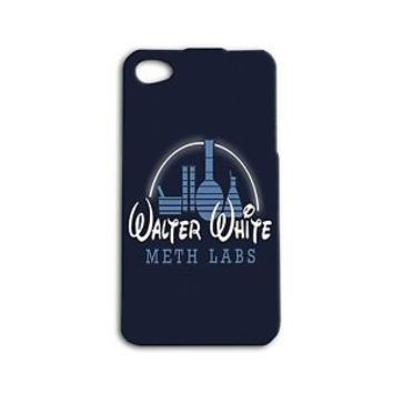 Breaking Bad Case Disney Funny Cover Blue iPhone 4 4s 5c 5 5s 6 6s Plus + Cover