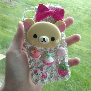 iPhone 4/4s Kawaii Whipped Cream Frosting Decoden Case