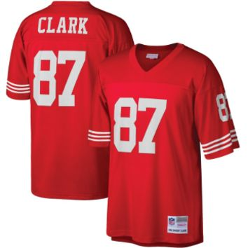 San Francisco 49ers Dwight Clark Mitchell & Ness Scarlet Vintage Replica Jersey