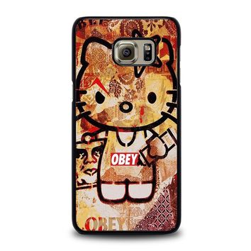 OBEY HELLO KITTY Samsung Galaxy S6 Edge Plus Case Cover