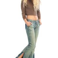 Vintage Y2K What A Girl Wants Denim Flares - XS/S