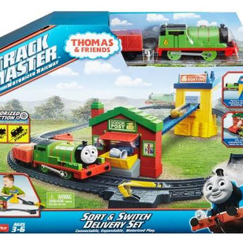 thomas & friends track master sodor post