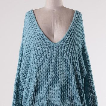 Soft Wide Neck Sweater