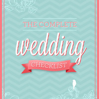 Printable Wedding Planning Checklist & Timeline PDF -- 430 Tasks -- 14 Pages
