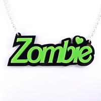 Zombie Doll Necklace