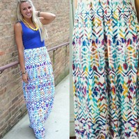 A Day in the Sun Maxi Dress - Piace Boutique