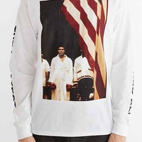 Muhammad Ali Long-Sleeve Tee- White