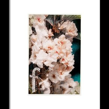 Abstract Flowers Framed Print By Konstantin Sevostyanov