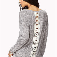 Meadow Crochet Sweater