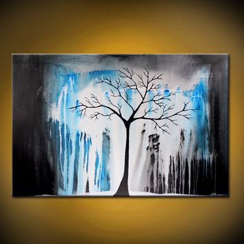 Shop painting background trees on wanelo for Acrylic painting on black background