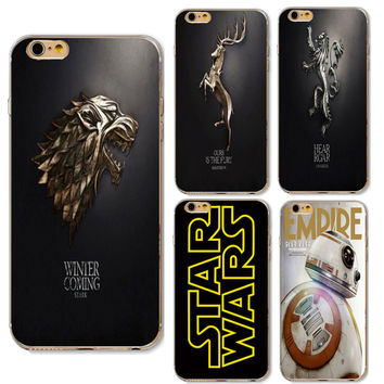 For Apple iphone 6 6S 7 Samsung Galaxy A3 A5 J5 2016 J2 Prime Cases Game Of Thrones Daenerys Drogon Jon Snow tyrion lannister
