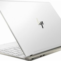 """HP - Spectre 13 - 13.3"""" Touch-Screen Laptop - Intel Core i7 - 8GB Memory - 256GB Solid State Drive - HP soft matte finish in ceramic white"""
