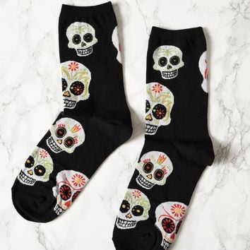 SUGAR SKULL SOCKS