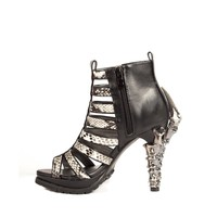 Hades Shoes H-LEORA Fashion mixed with Goth inspired heels