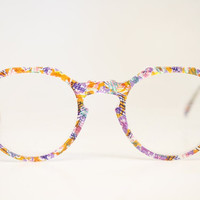 Unique Glasses Frames Colorful P3 1980's vintage eyewear NOS Deadstock Vintage Eyeglasses