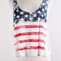 For The Red, White & Blue Top