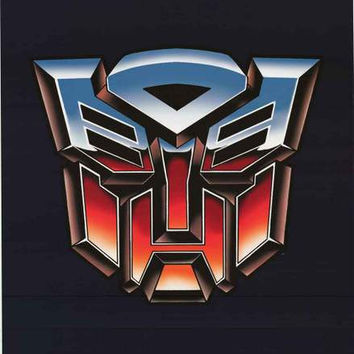 Transformers Autobots Logo Poster 24x36