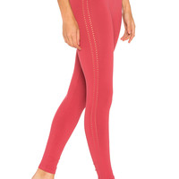 Free People Barely There Legging in Pink | REVOLVE