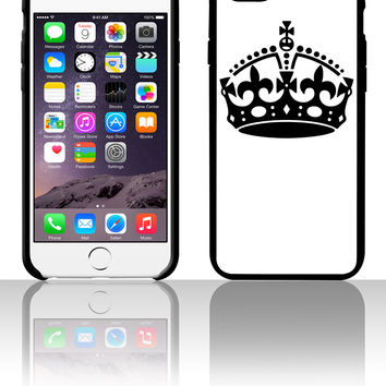 Keep Calm Crown 5 5s 6 6plus phone cases