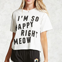 Meow Graphic PJ Set
