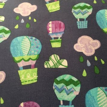 Colors and Count - Hot Air Balloons cotton fabric from Windham Fabrics - 1/2 yd