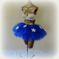 Wonder women costume, halloween costume, sexy adult costume, comic con outfit, cosplay, adult tutu, wonder woman tutu skirt