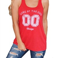 Chicago Blackhawks Flowy Tank Top| SportyThreads.com