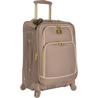 """Anne Klein Luggage Madrid 20"""" Expandable Spinner Champagne - Anne Klein Luggage Small Rolling Luggage - Default"""