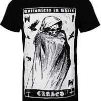 Motionless In White Grim Reaper Men's Black T-Shirt