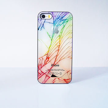 Cracked Out  Plastic Case Cover for Apple iPhone 5s 5 6 Plus 6 4 4s  5c