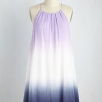 Live Free and Dip Dye Dress