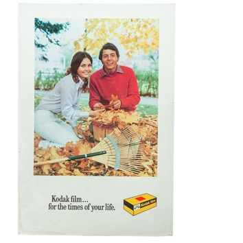 For The Times of Your Life Fall Couple Kodak Print