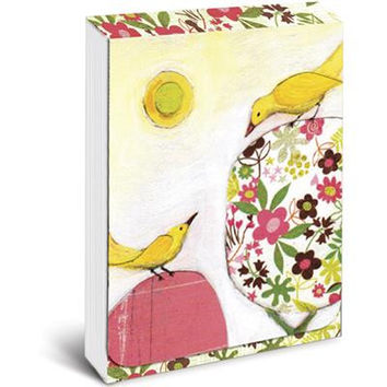 Yellow Birds Pocket Notepad