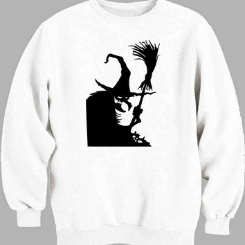 witch window silhouette Sweater for Mens Sweater and Womens Sweater ***