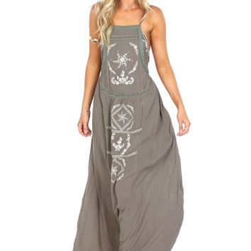 Wild Wanderer Embroidered Maxi