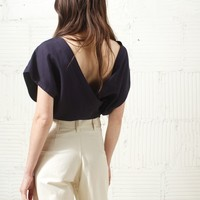 JOINERY - Java Wrap Top by Jesse Kamm - WOMEN