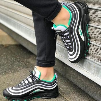 NIKE AIR MAX 97 Air cushion bullet reflective women's sports shoes