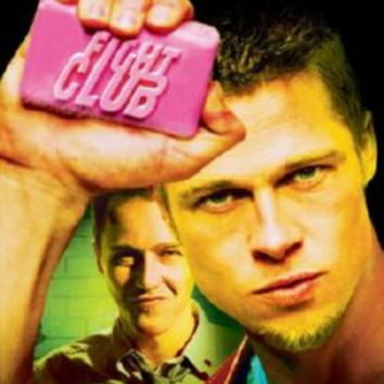 Fight Club Movie Poster Soap Art 24inx36in