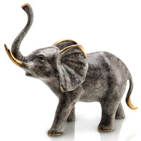 SPI Home Collection Bellowing Elephant Statue