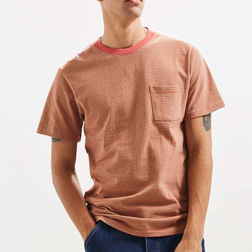 UO Standard-Fit Feeder Stripe Tee | Urban Outfitters
