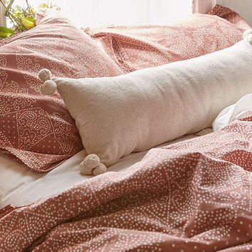 Magical Thinking Ayden Canvas Bolster Pillow | Urban Outfitters