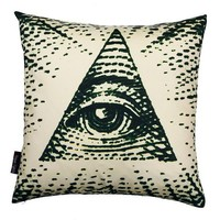 $24.99 Eye Of Providence pillow by RogueObjects on Etsy