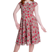 50's Retro Pinup Apple and Blossom Darling Francine Dress