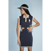 pretty polo dress viviane