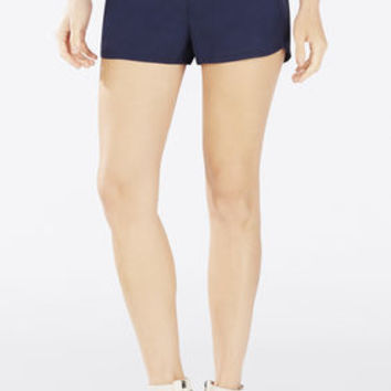 Dark Blue BCBG Bryan Pull-On Track Shorts
