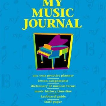 My Music Journal (Hal Leonard Student Piano Library)
