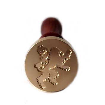 Game of Thrones Fans collection Wax Seal Stamps Wooden HANDLE House sigils Sets Family Badges