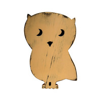 Cute Wooden Owl (Pictured In Khaki) Nursery Decor Kids Room Art Wooden Wall Sign Cottage Chic Shabby Chic Photo Props